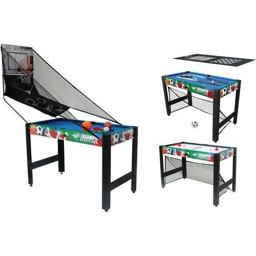 Triumph Sports Usa 10 In 1 48 Combo Game Table Table Games