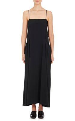 HELMUT LANG Twill Slip Maxi Dress. #helmutlang #cloth #dress