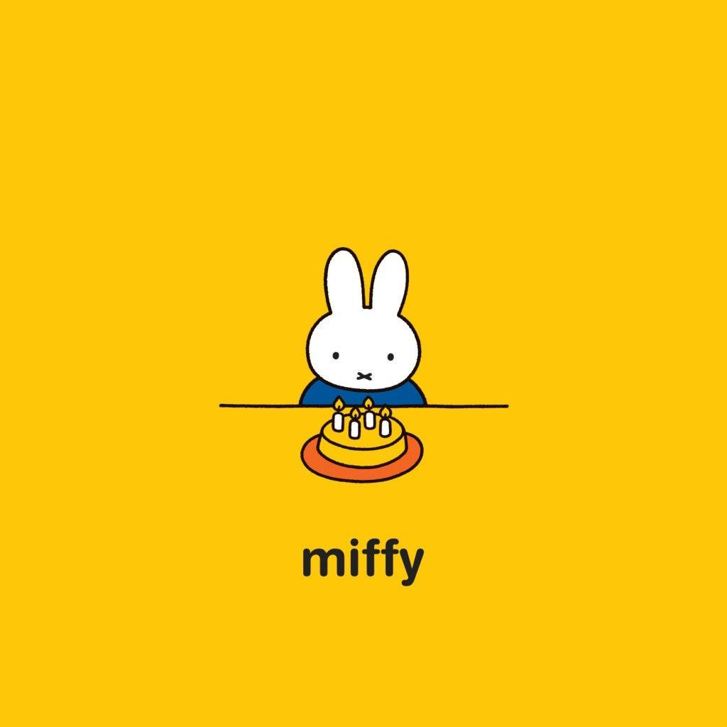 ミッフィーとケーキ スマホ壁紙 Iphone Android対応無料 高画質
