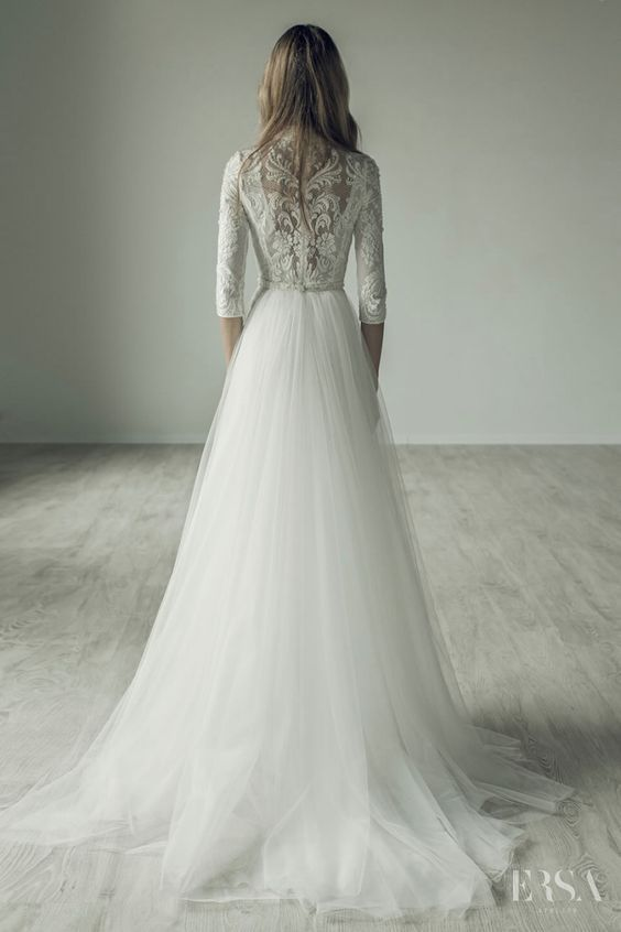 Wedding Dress Inspiration - Ersa Atelier   Vestidos novia, Mas de y ...