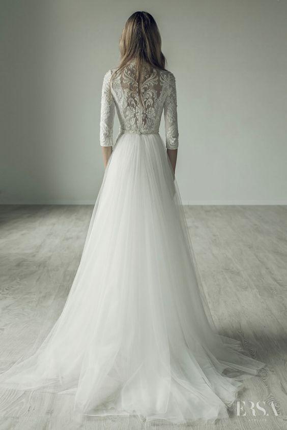 Wedding Dress Inspiration - Ersa Atelier | Dress ideas, Atelier and ...