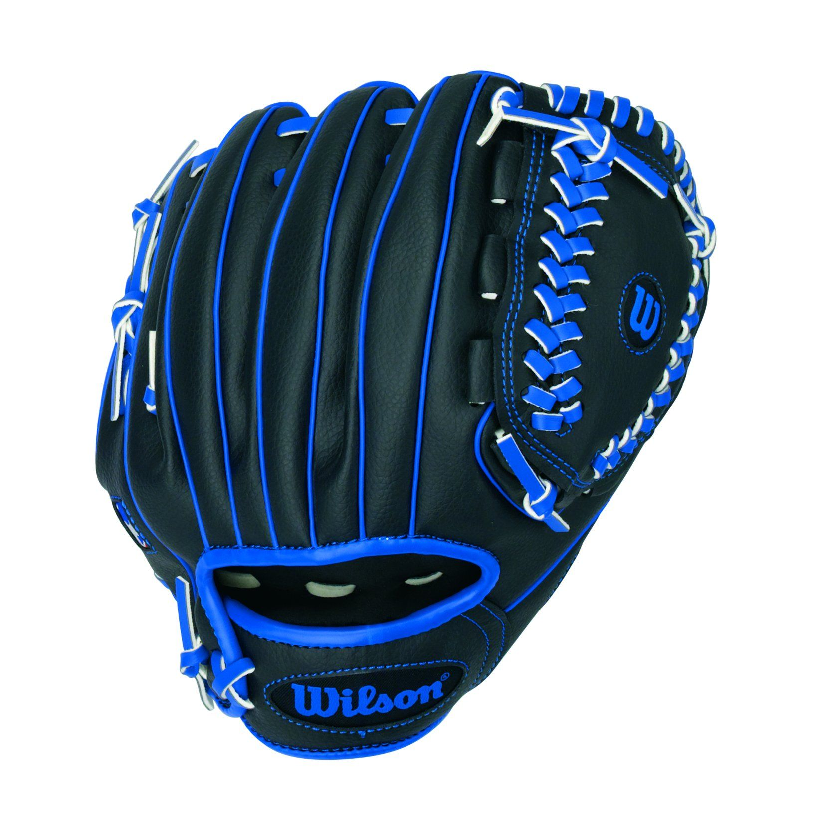 Wilson A200 Boy Glove Right Hand Throw 10 Black Blue 10 Model All Positions Victory Web G Youth Baseball Gloves Baseball Glove Vintage Baseball Gloves