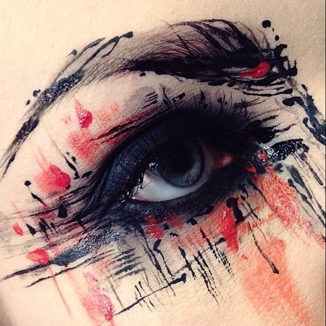Schmink Shop Eye Pencil Black, Microshadow Pollution und Cake Eyeliner Black. M ...    Schmink