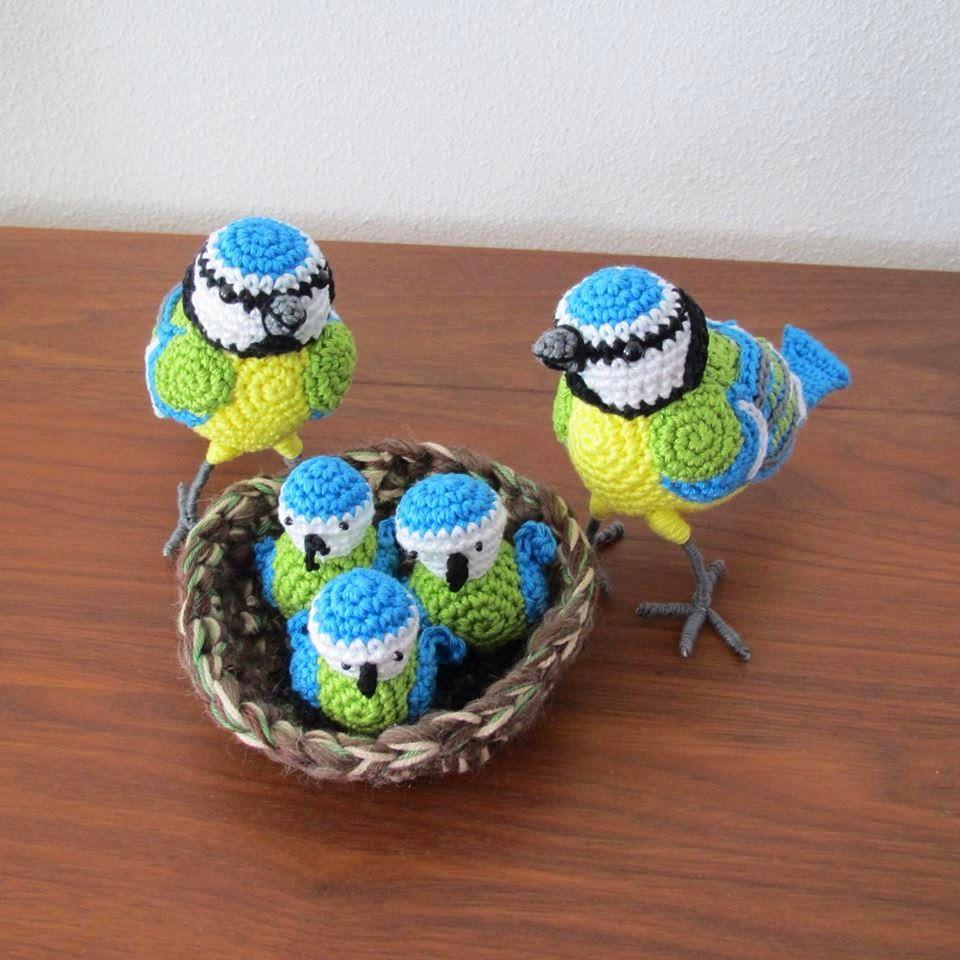 Super Haakpatroon Pimpelmeesjes Haken Pinterest Croché