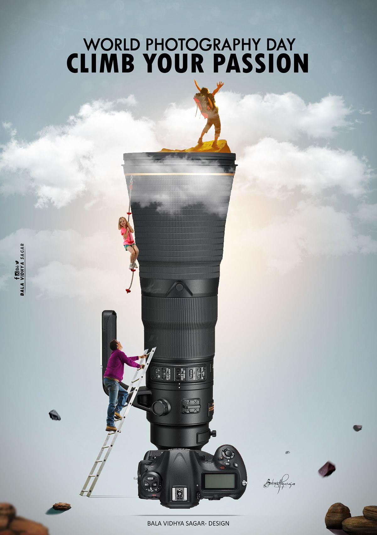 World Photography Day 2019 Manipulation On Behance In 2020 World Photography Day World Photography Photography Day