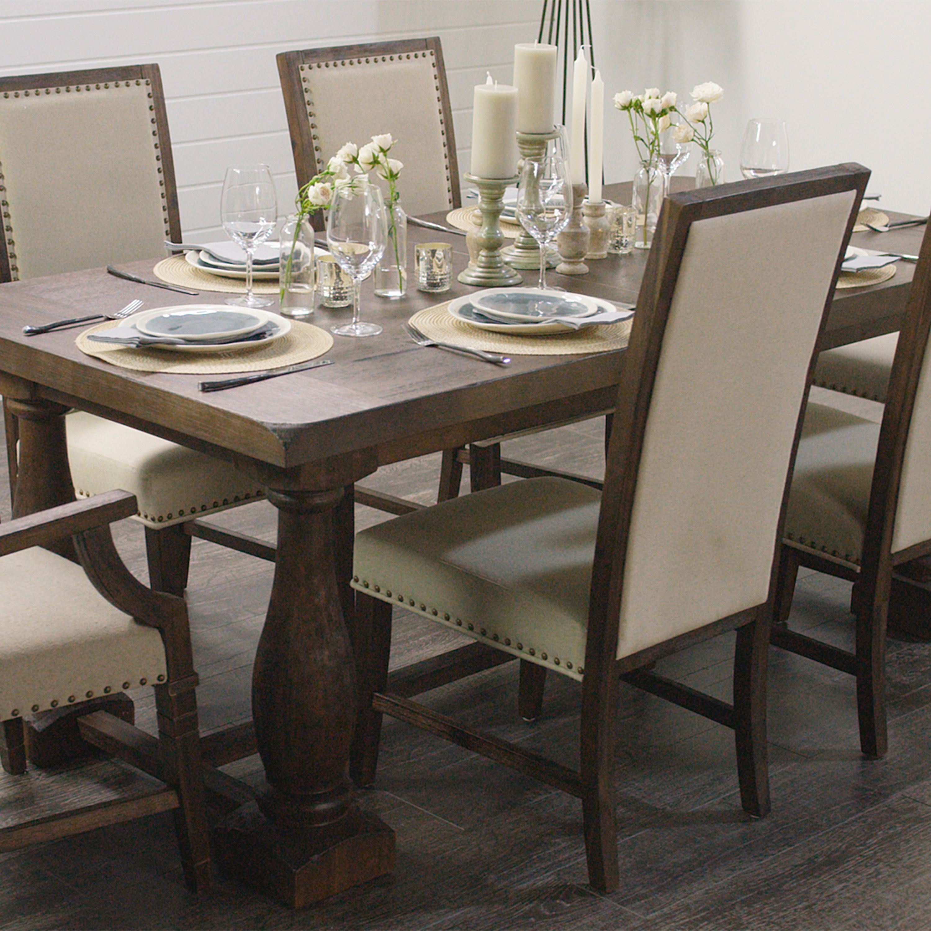 Rectangular Java Greyson Extension Table Dining Table Dining
