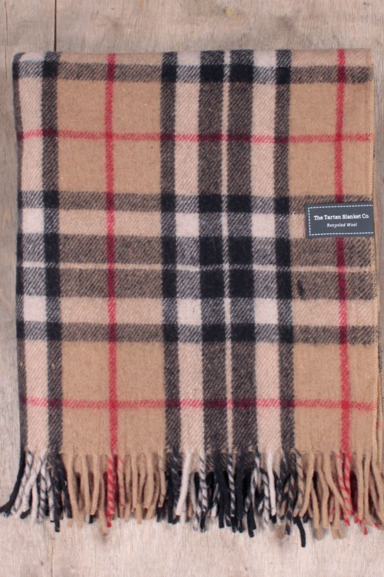 The Thomson Camel tartan is highlighted with black e6cc64a22