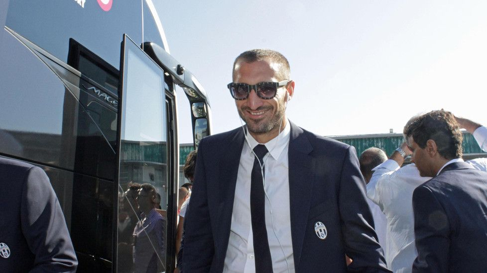 La Juventus a Fiumicino