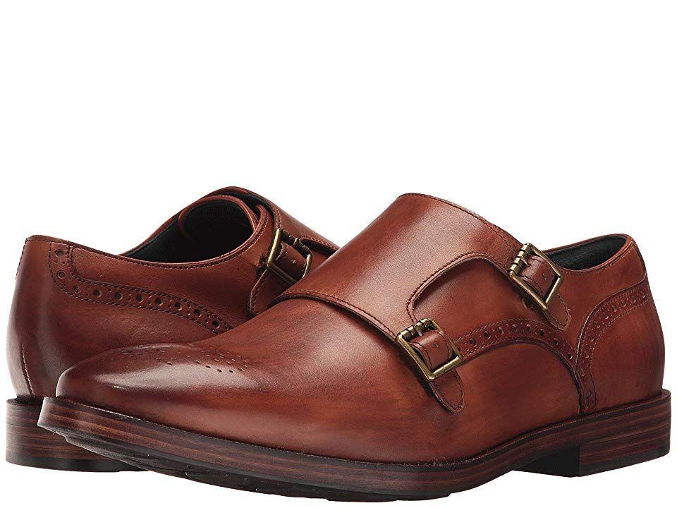 1da5ced430a Cole Haan Hamilton Grand Double Monk Men s Shoes British Tan ...