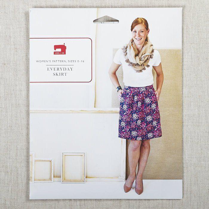 Everyday Skirt | Sewing Patterns | Pinterest