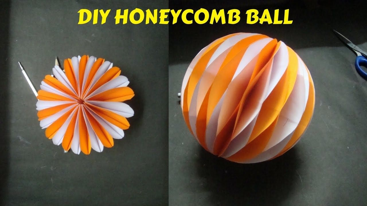 How to make honeycomb ball paper craft ideas diy paper craft and how to make honeycomb ball paper craft ideas diy paper craft and art mightylinksfo