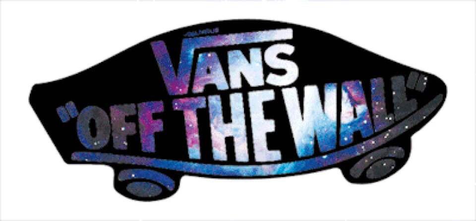 Galaxy vans off the wall logo vans off the wall vans logo