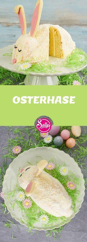 Passend Zu Ostern Eine Susse Osterhasentorte Osterhasenkuchen