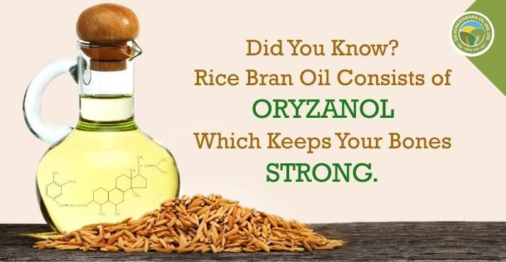 Keep your bones strong with #RiceBran oil