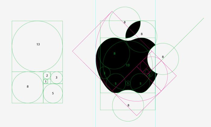 Design of the Apple Logo and the Golden Ratio