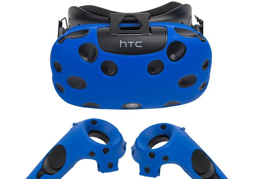 a1930555e7b5 Cheapest For HTC Vive Headset VR Silicone Case Cover Anti-slip VR Glasses  Helmet Controller Handle Case Shell Virtual Reality  electronic