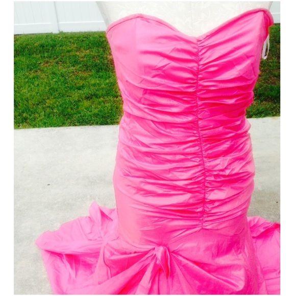 HP!Jessica McClintock mermaid style prom dress | Dress prom, Tutu ...