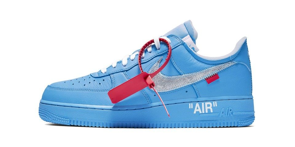 Virgil Abloh X Mca Chicago X Nike Air Force 1 07 Official Imagery