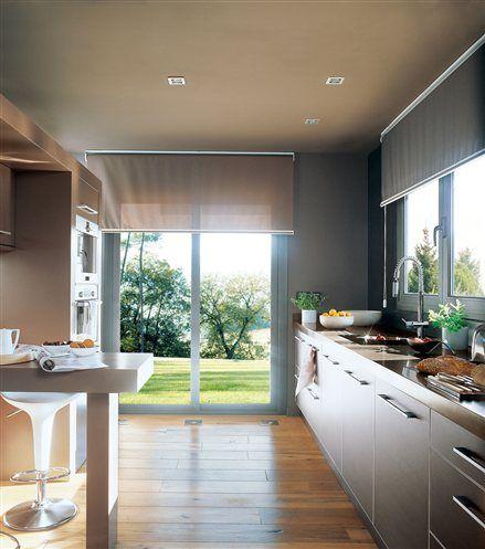 Buenas ideas para cocinas peque as decor details pinterest kitchen kitchen decor y home - Estores para cocinas modernas ...