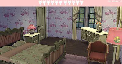 My Sims 4 Blog: Children's Wallpaper by Simista