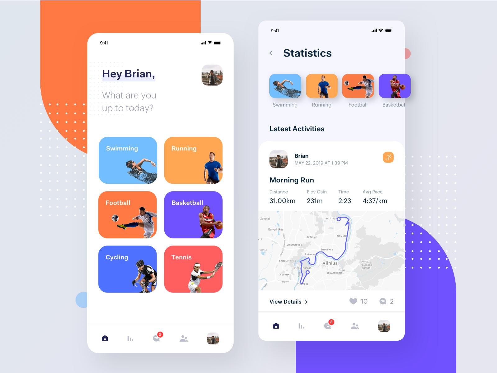 Active Lifestyle App Lifestyle Apps Sports App App