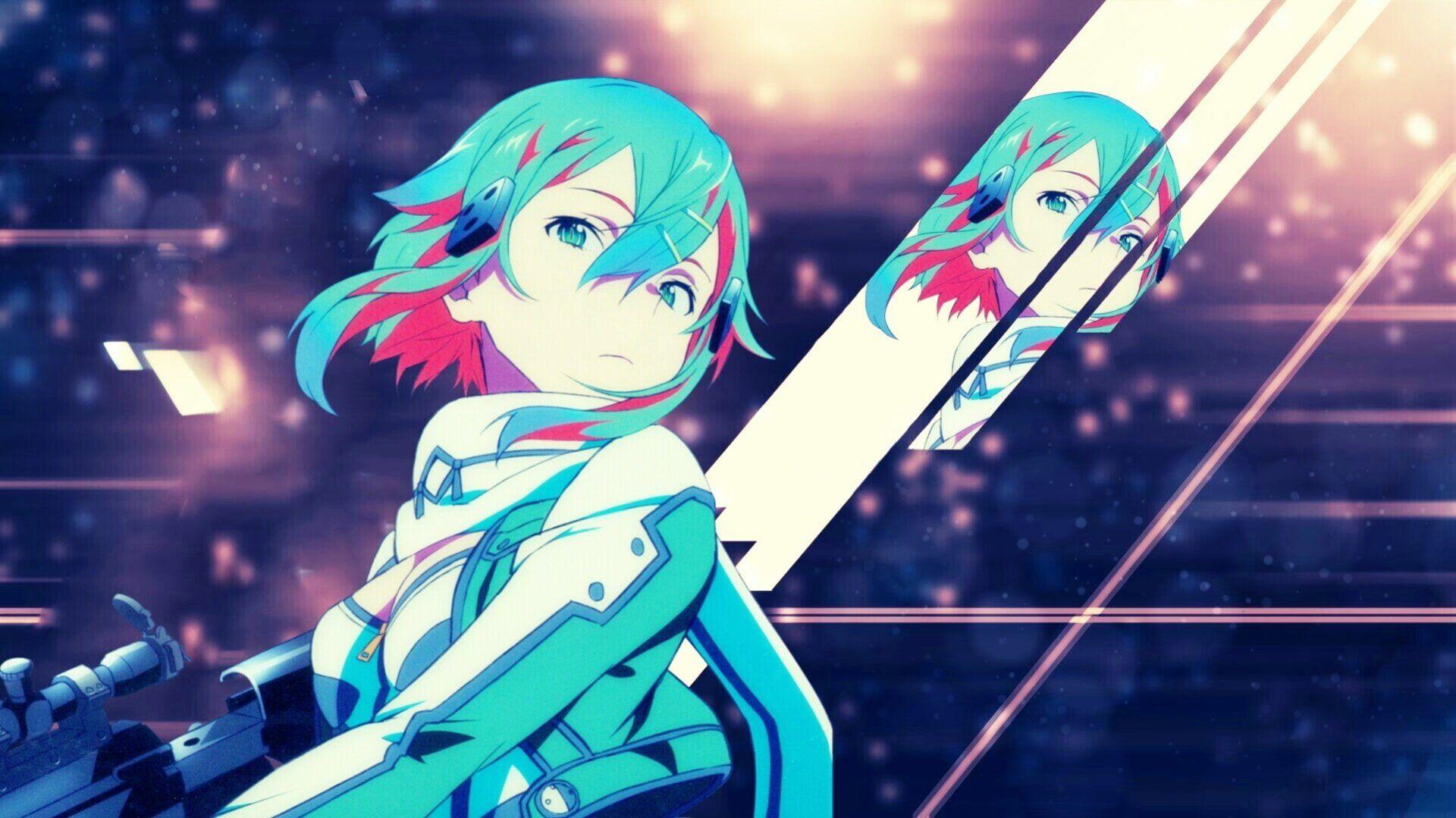 Sword Art Online Sword Art Online Ii Sinon Sword Art Online 1080p Wallpaper Hdwallpape Sword Art Online Wallpaper Sword Art Online Sword Art Online Kirito