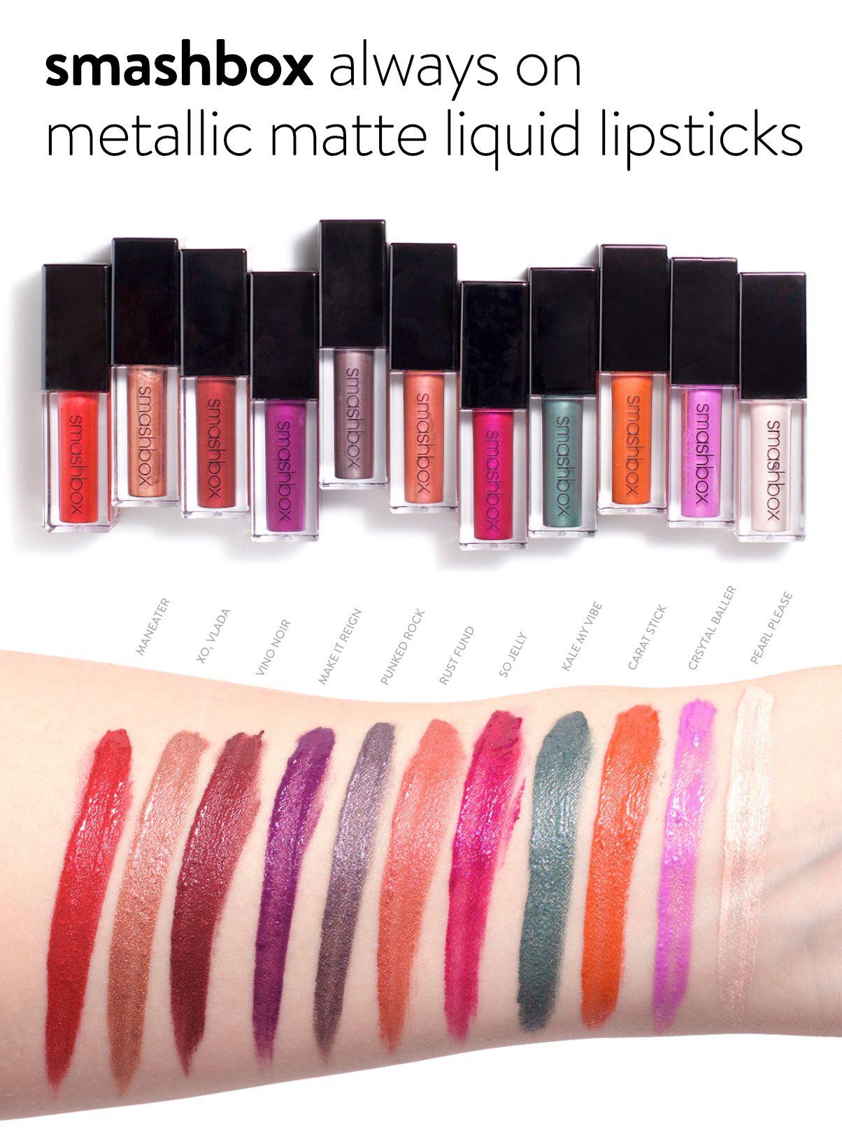 Always On Matte Liquid Lipstick by Smashbox #12