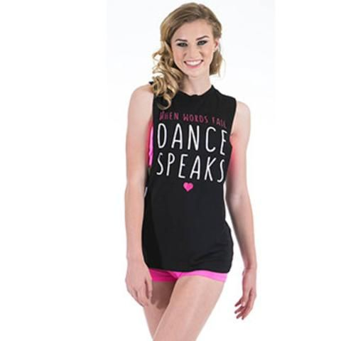 Gia Mia G297 Dance Speaks Tank