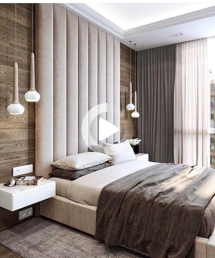 Top 30 Masculine Bedroom Part 2: 50 Modi Per Creare Muro Accento Nell'interno