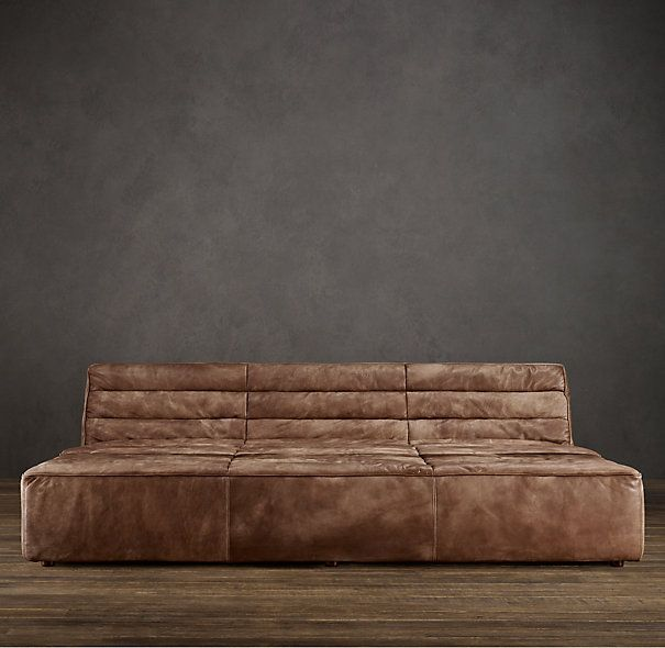9u0027 chelsea leather daybed need a room big enough for one of these - Leather Daybed