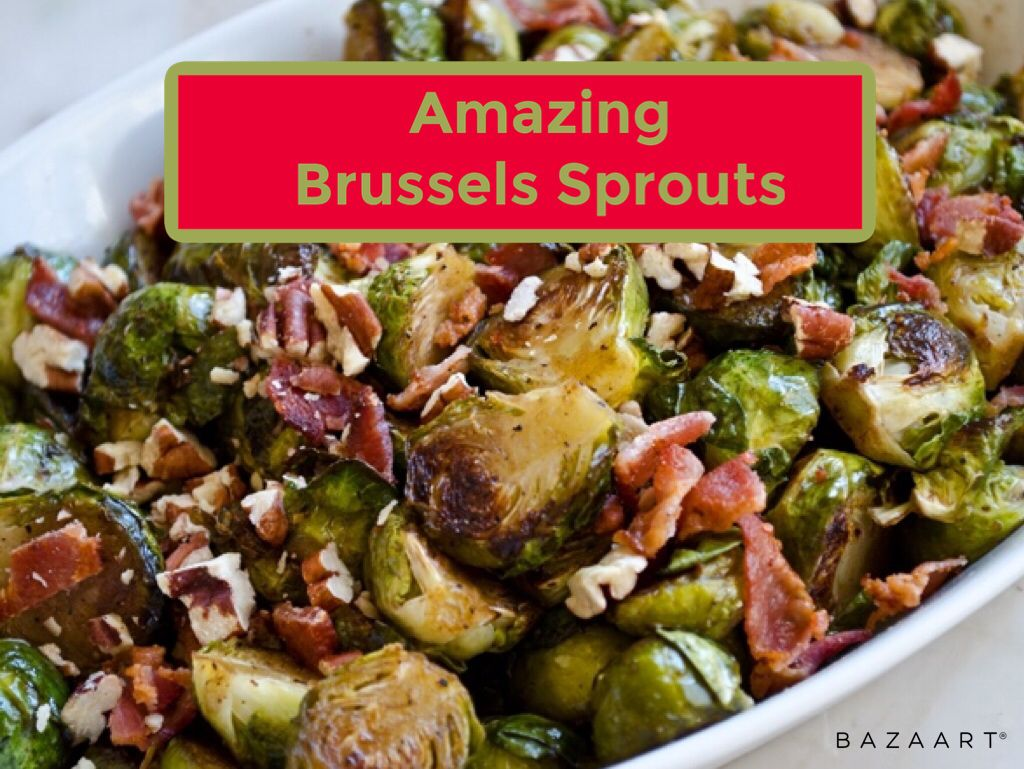 The only way to eat brussels sprouts in my opinion the maple and bacon take away the bitterness #christmas #sprouts #christmassides #christmasdinner #brussels #bacon