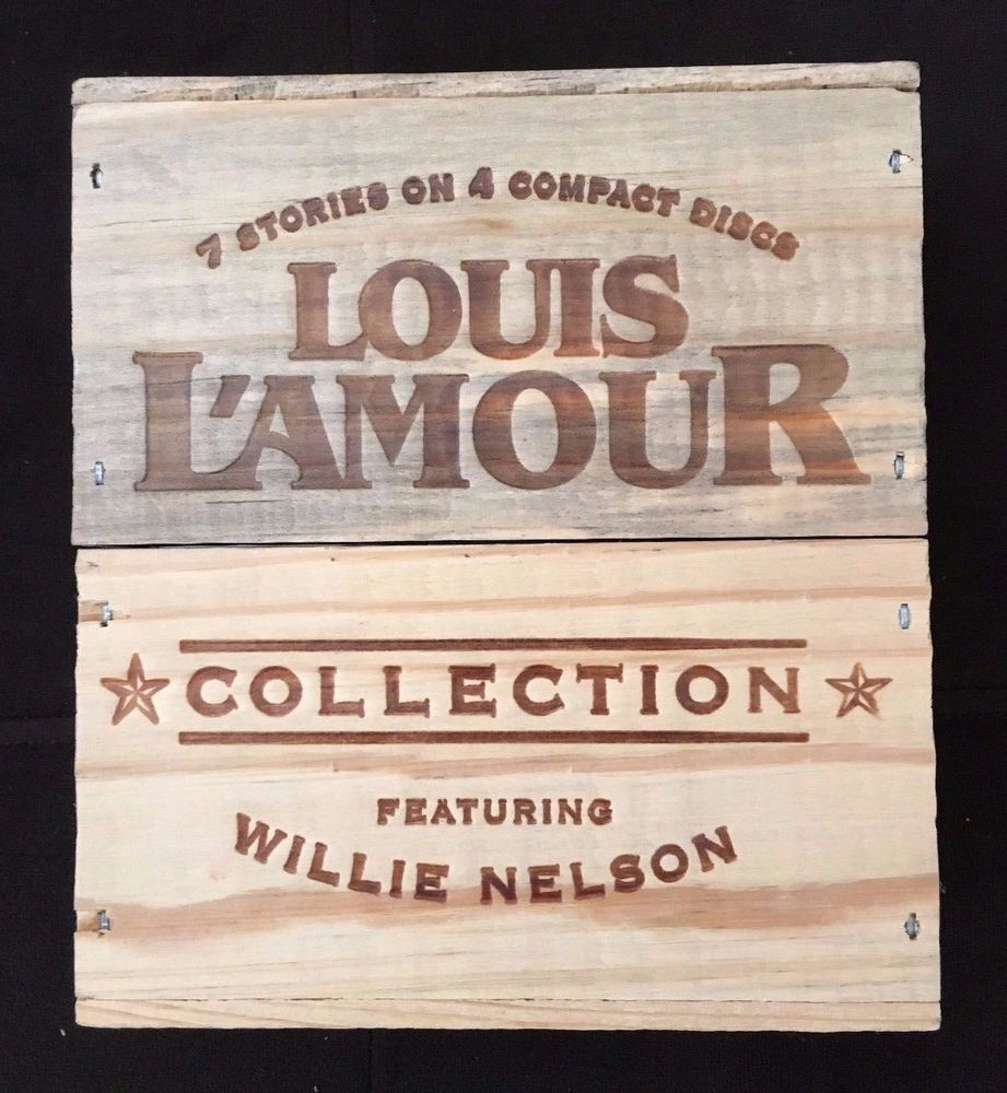 Louis L'Amour Collection Featuring Willie Nelson 7 Stories 4CD Classic Westerns stores.ebay.com/urbanreseller