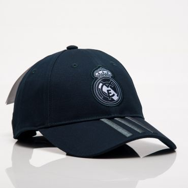 696d6b8c2de adidas FC Real Madrid 2018-19 3 Stripes Cap
