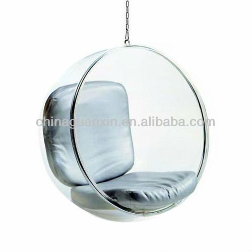 Clear acrylic hanging bubble chair cheap for sale 150 for Cheap hanging chairs