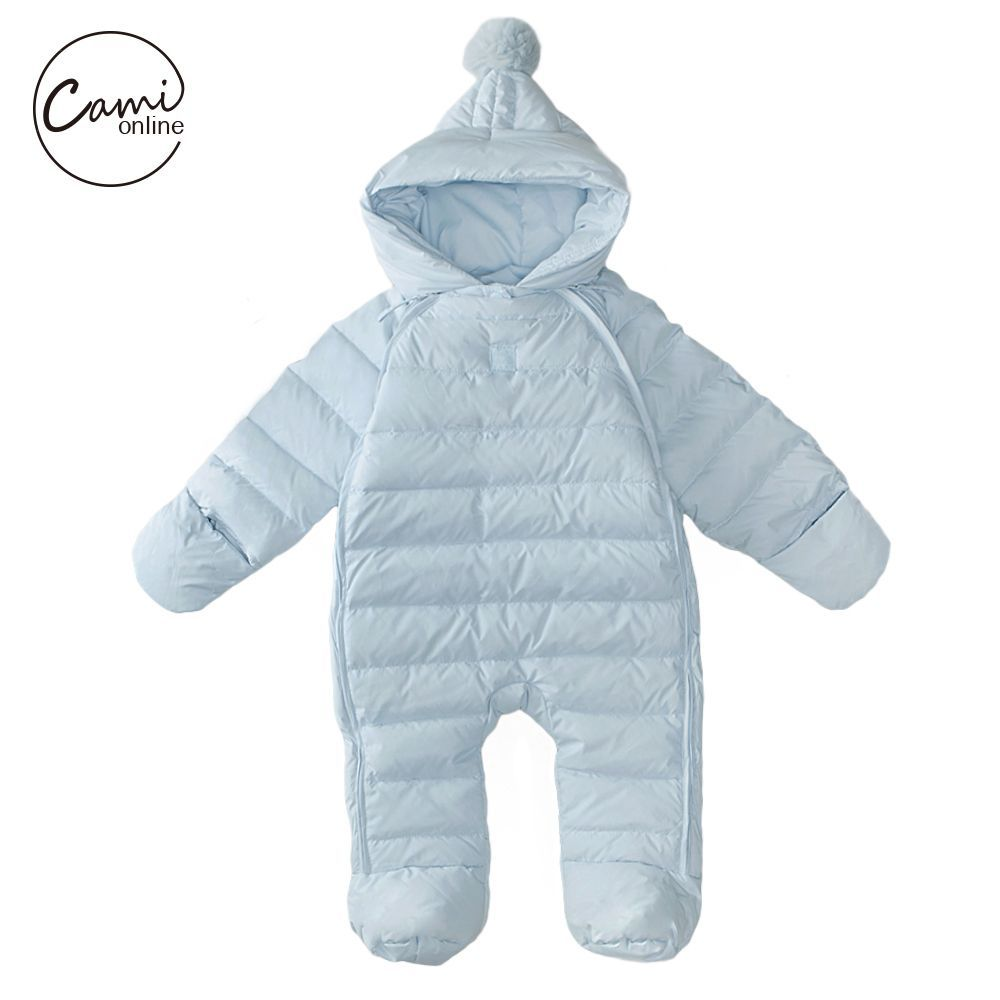 c88e138bc Baby Rompers Newborn Boys Girls Thermal Duck Down Winter Snowsuit ...