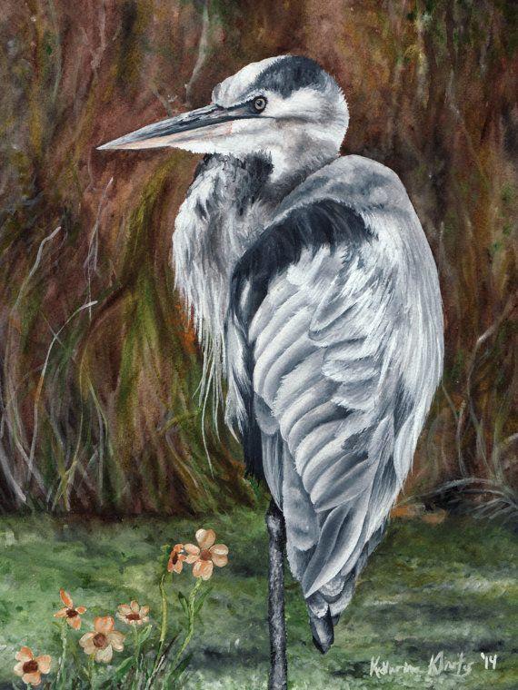 Wildlife Art Work - Bird Paintings - Wildlife Prints