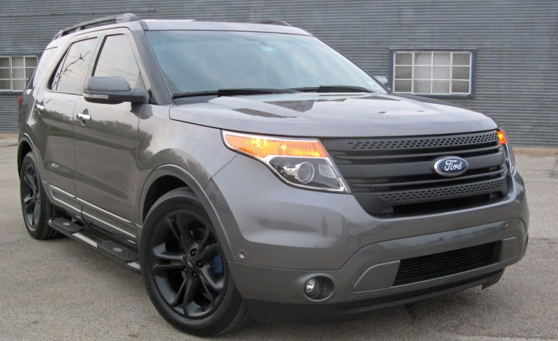 Custom grille for a Ford Explorer | Ford Explorer | 2011