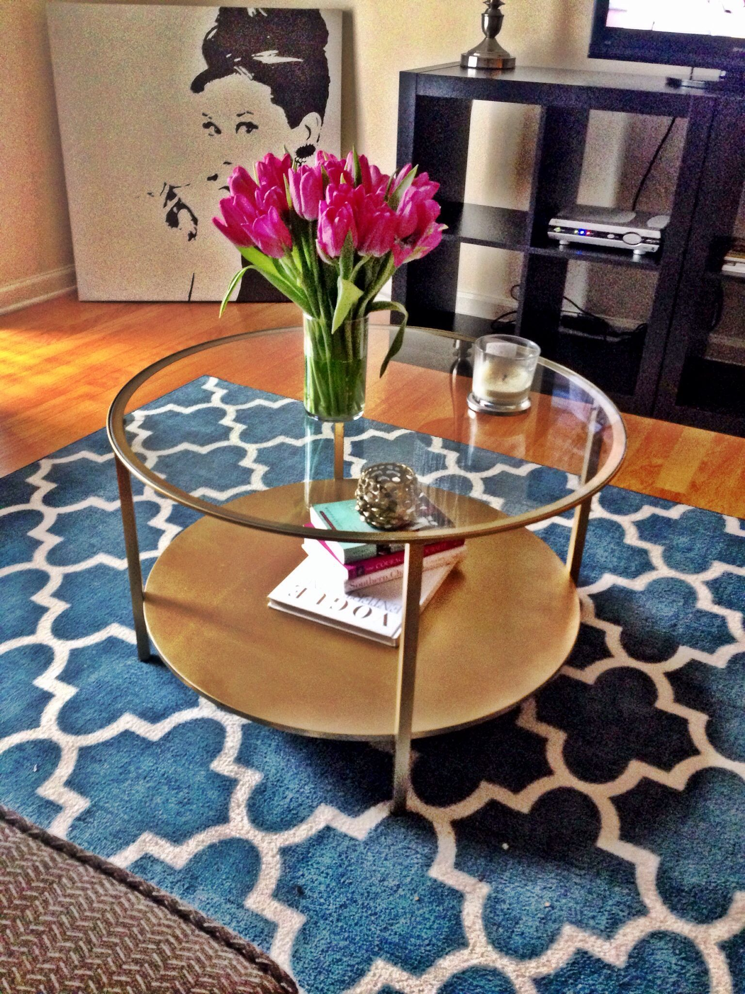 Ikeahack Diy Round Coffee Table Round Glass Coffee Table Coffee Table Ikea Coffee Table [ 2048 x 1536 Pixel ]