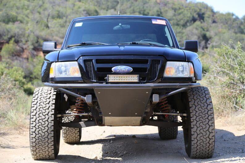 Ford Ranger Prerunner Long Travel Suspension and 35 inch tires Ford Ranger Prerunner Long Travel Su
