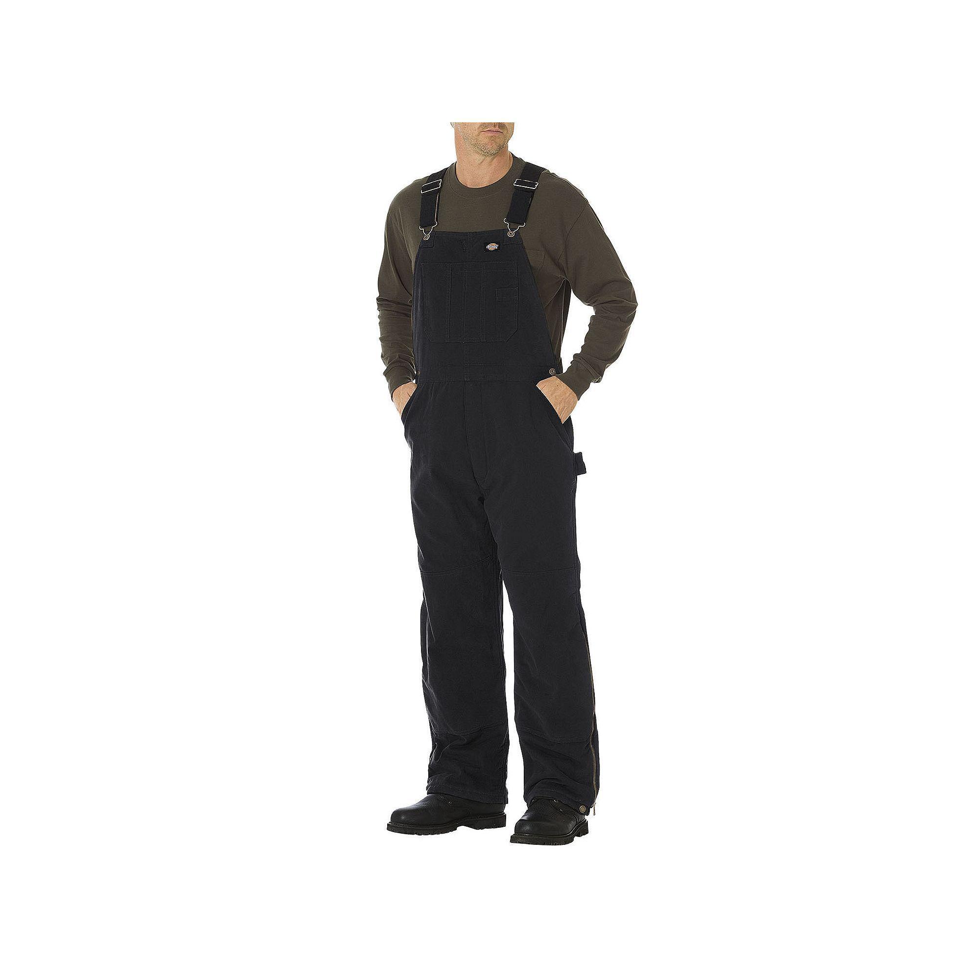 men s dickies sanded duck insulated bib overall overalls on womens insulated bib overalls id=48126