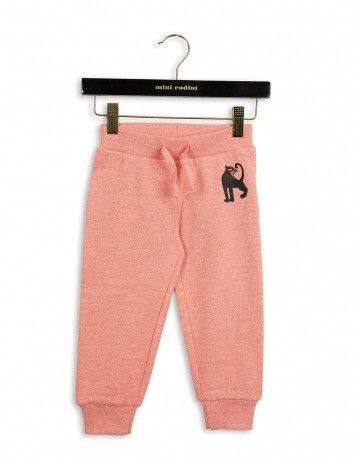 Mini Rodini Panther Sweatpants | Pink