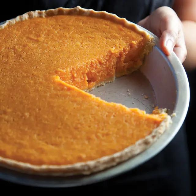 Sweet Potato Pie Recipe Yummly Recipe In 2020 Sweet Potato Pie Sweet Potato Pies Recipes Vegan Sweet Potato Pie