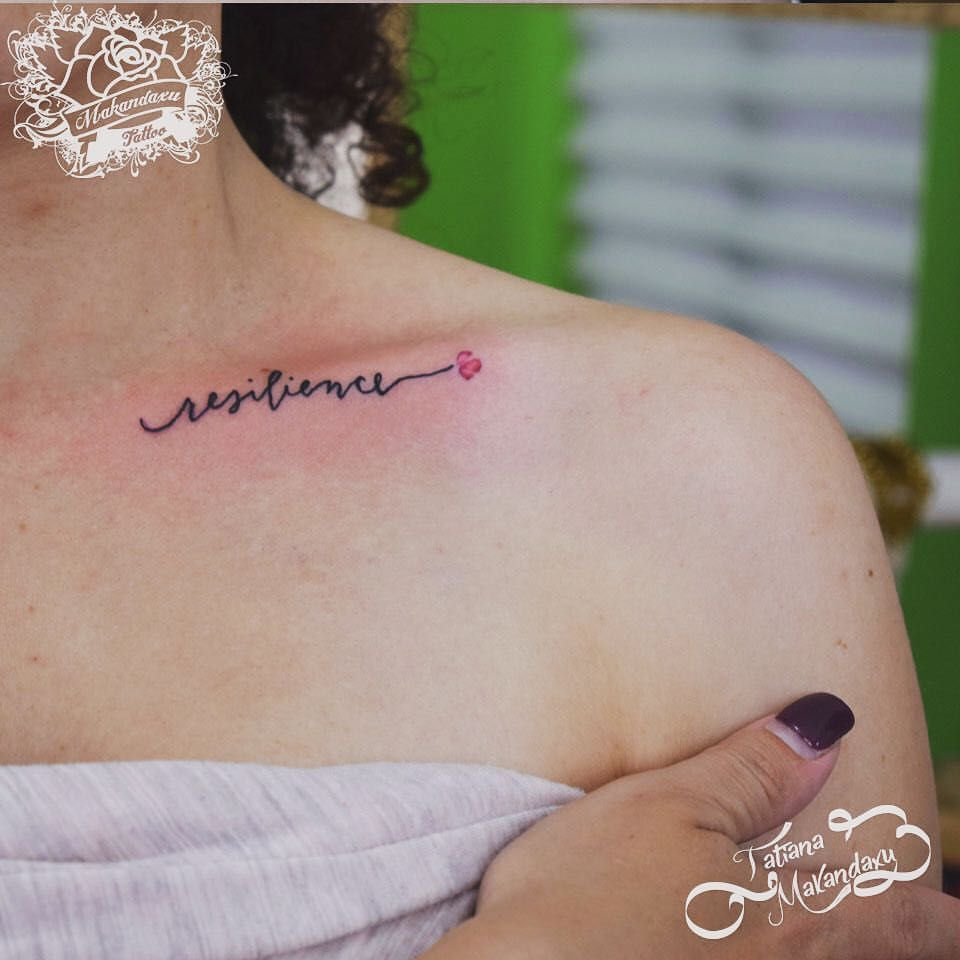 Tattoo Quotes About Resilience: Resilience Con Florecilla #resiliencia #resilience #inked