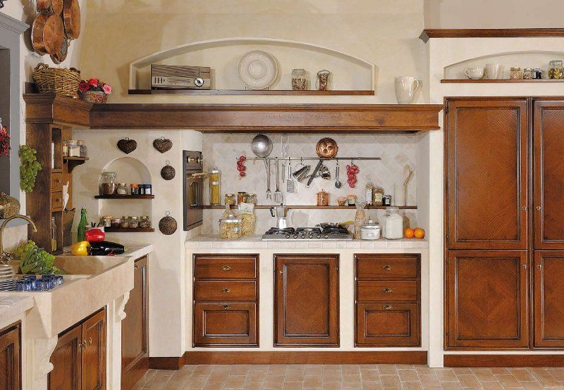 Mobili Toscani ~ Cucine in muratura murate in vera o finta muratura os.ma