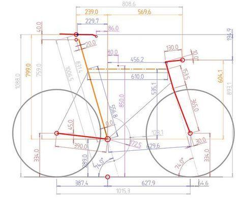 Bicycle Graphic Design More Ergonomics Bicicletta Disegno Di