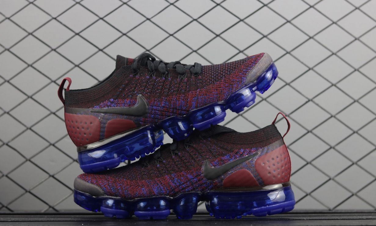 Men s Nike Air Vapormax Flyknit 2 - Black Black Team Red Racer Blue -  42842006 -  Nike  AirMax  NikeAirMax  nike  Training  Fitness   PersonalTraining ... 6095551c8