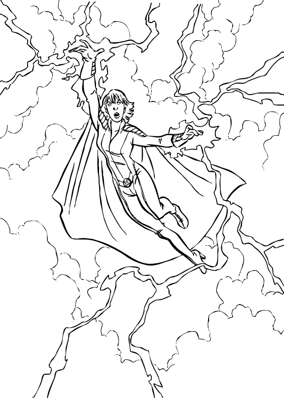 Here A Coloring Page Of Storm Flying Discover All Your
