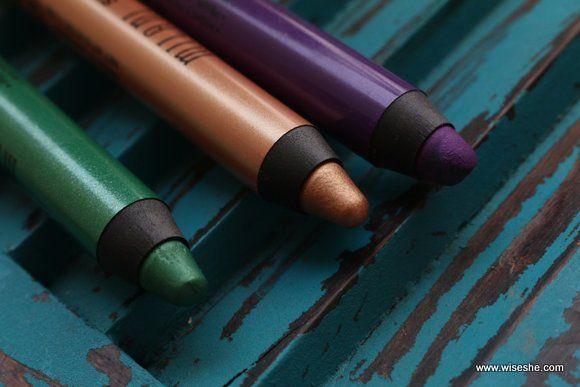 Milani Eye Shadow Pencils Review, Swatch & Eye Makeup Tutorial + VIDEO