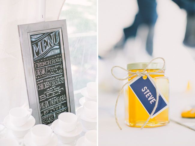 honey jar favorshttp://greenweddingshoes.com/canadian-backyard-wedding-kara-tom/