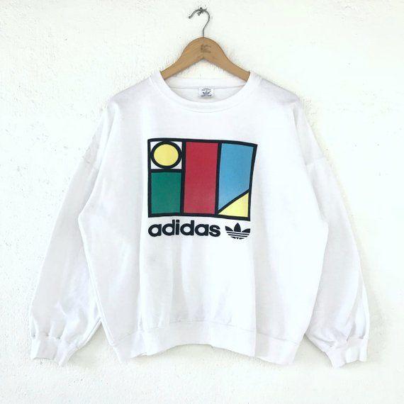 Vintage 80s Adidas Ventex Ivan Lendl Sweatshirt Adidas